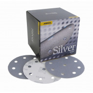 Mirka Q-silver 125 mm velcro 9 gaten