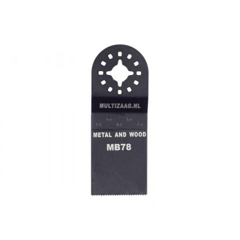 Zaagblad standaard MZ78/MB78