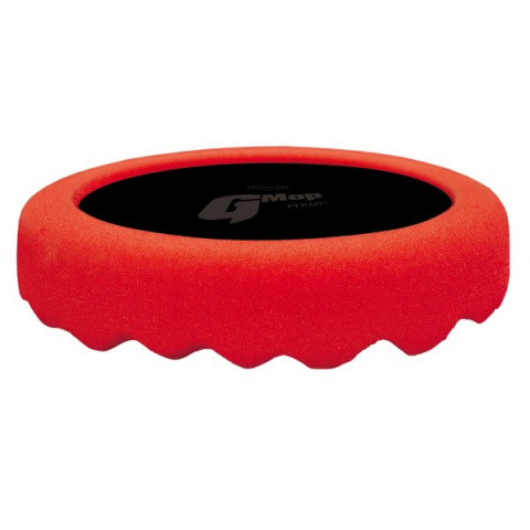 Farecla G3 red waffle polishing foam 150mm.