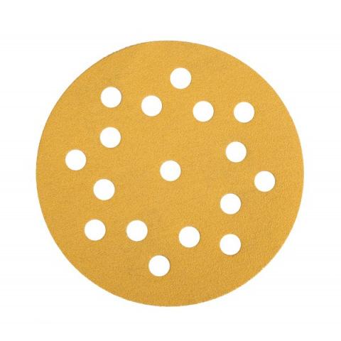 Mirka Gold 150 mm velcro 17 gaten
