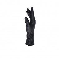 Finixa lange nitril wegwerphandschoenen - zwart